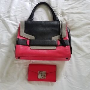 Vince Camuto Leather Purse and Wallet